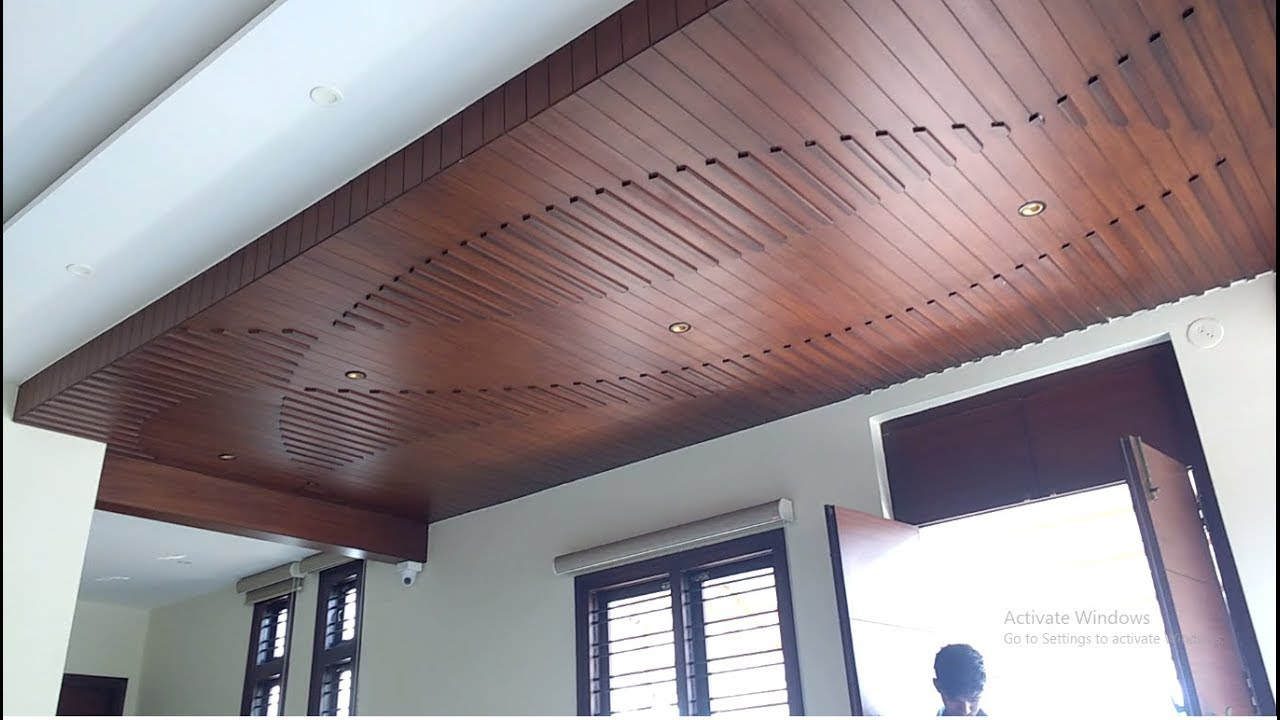 MODERN WOODEN FALSE CEILING DESIGN FOR YOUR OFFICE