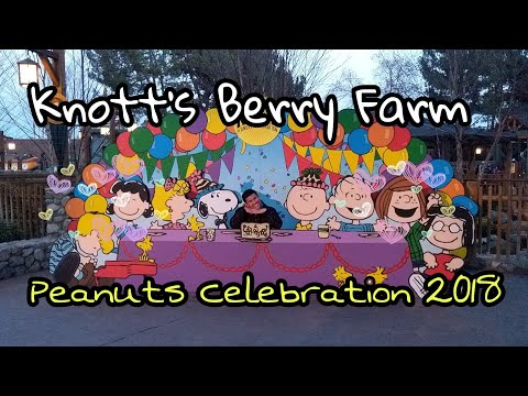 Everything theres to do at the Peanuts Celebration Knotts Berry Farm
