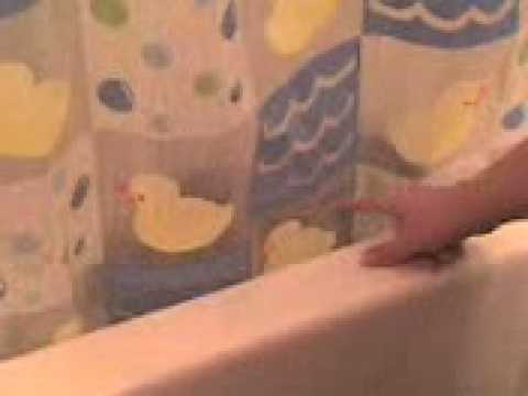 Trixie in the shower!