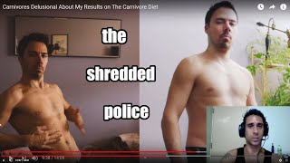 Vegetable Police - Carnivores Delusional About My Results On The Carnivore Diet - Video Breakdown