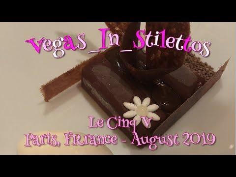 Le CInq V, Paris - August, 2019 - Restaurant Reviews