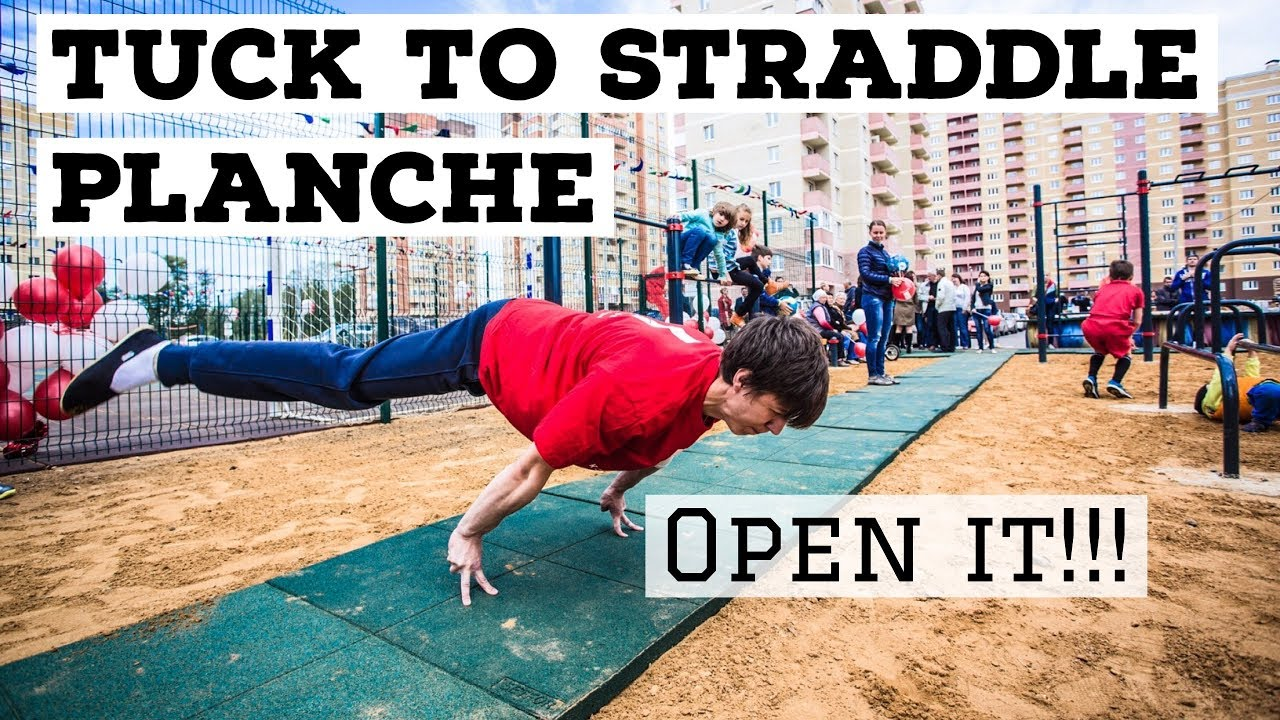 Tuck To Straddle Planche Best Exercises For Legs Opening Youtube