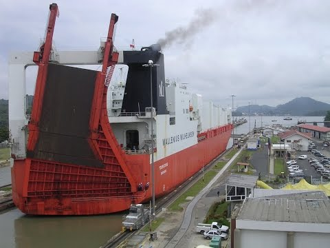 "EXPANDED PANAMA CANAL ""First voyage"" (official video)"