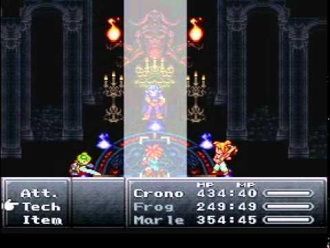 Chrono Trigger Bosses - Magus Fight