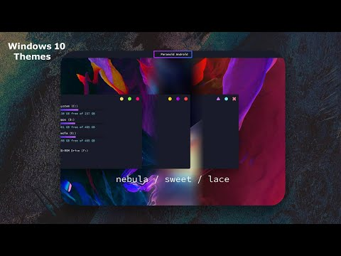 Paranoid Android Themes For Windows 10 - 1909