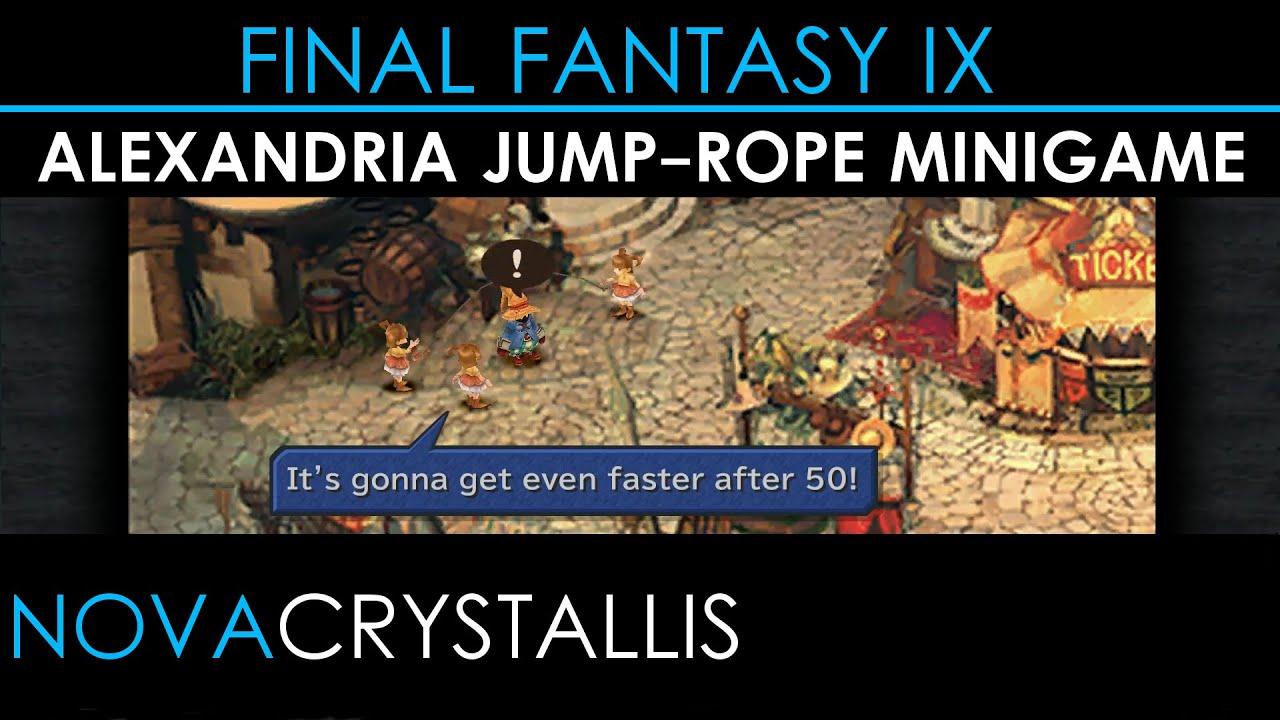 Final Fantasy IX (PC) Alexandria Jump-rope Minigame