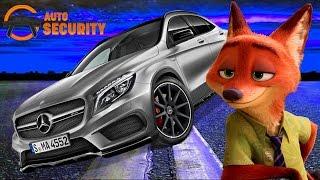 видео Сигнализации и охранные системы Mercedes Benz