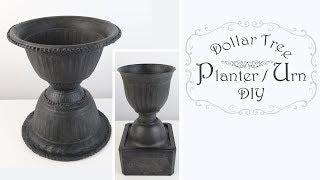 Planter Urn DIY / Dollar Tree DIY