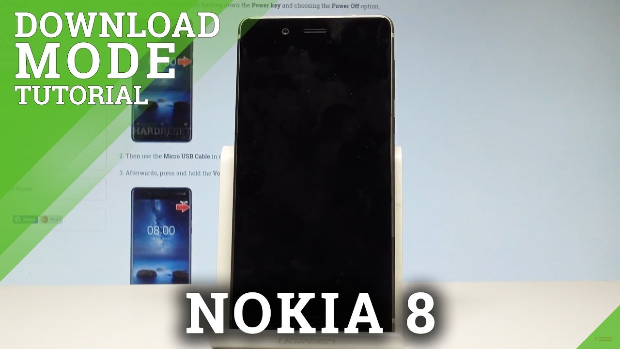 How to Enter Download Mode in NOKIA 8 - Quit Download Mode |HardReset info