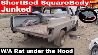 Big Block Short Bed Square Body Junk Yard Find