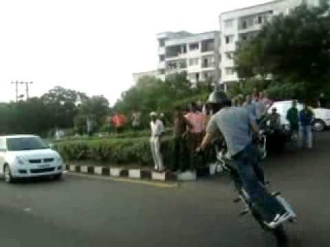 Faraz Abbas Bhopal Street Stunting