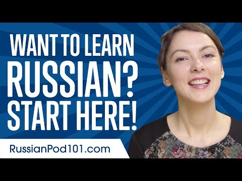 Learn Russian In Minutes -  Get Started With Russian Like A Boss!
