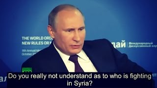 Putin Tells Everyone Exactly Who Created ISIS thumbnail