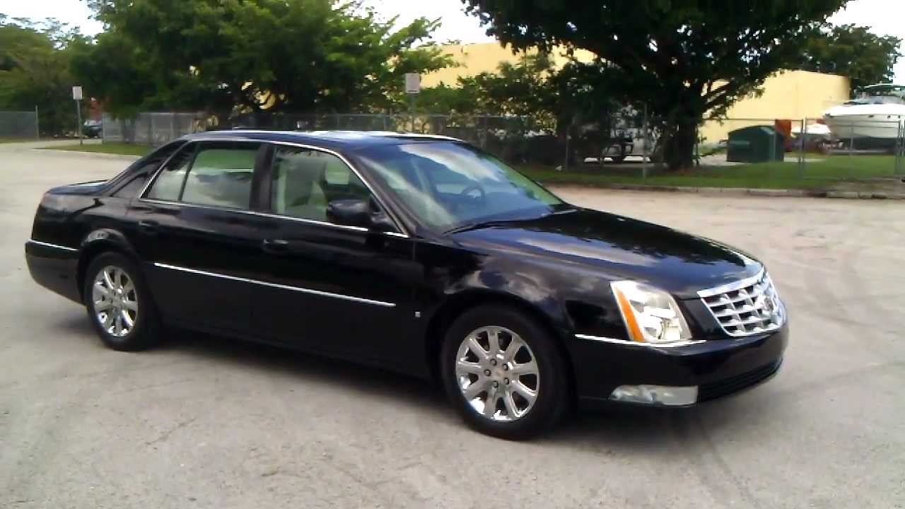 for sale 2009 cadillac dts sedan with navigation youtube. Black Bedroom Furniture Sets. Home Design Ideas