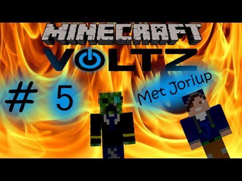 "Minecraft Voltz Survival [Dutch Commentary] Part 5 ""Uranium, Powertool & Solar Panels! {DsC} HD"
