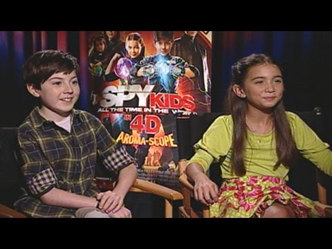 'Spy Kids: All the Time in the World in 4D' Mason Cook & Rowan Blanchard