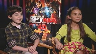 'Spy Kids: All the Time in the World in 4D' Mason Cook & Rowan Blanchard Interview