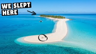WE CAMPED ON THIS ISLAND IN THE PHILIPPINES