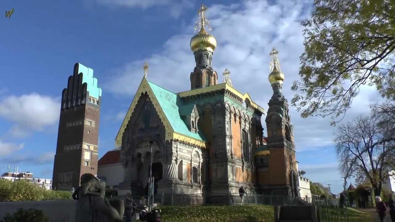 die russische orthodoxe kirche der hl maria magdalena in darmstadt youtube. Black Bedroom Furniture Sets. Home Design Ideas