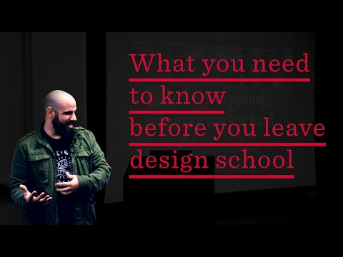 What You Need To Know Before You Leave Design School