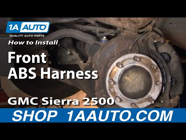 2003 2004 For GMC Sierra 2500 HD Front Disc Brake Rotors