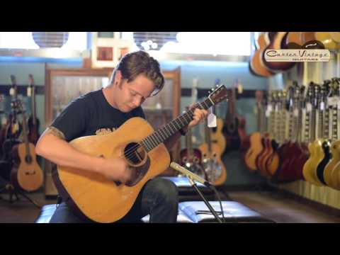 1935 Martin D-18 played by Billy Strings