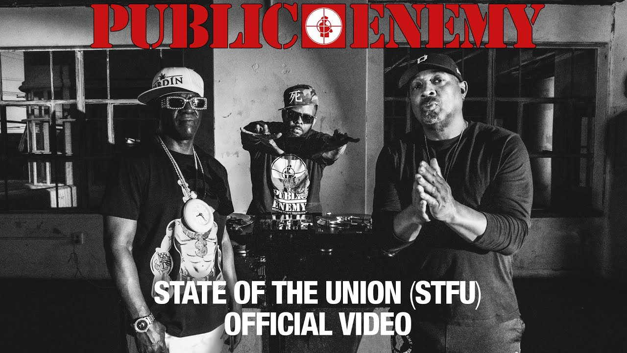 PUBLIC ENEMY - State Of The Union (STFU) featuring DJ PREMIER | OFFICIAL VIDEO