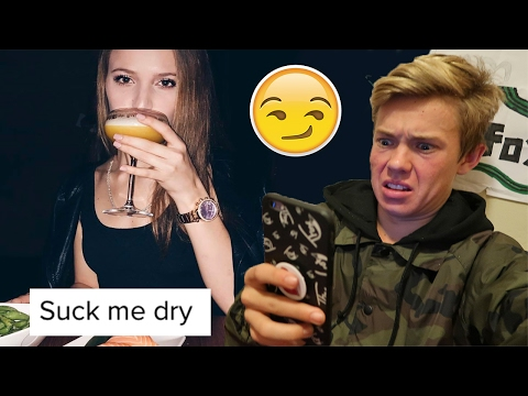 READING MY SISTER'S INSTAGRAM COMMENTS!