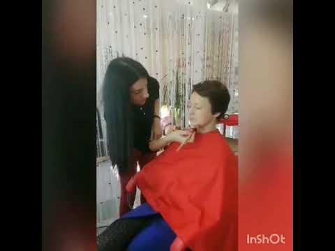 Визаж от стилиста Марины макияж La Familia Salon семейная парикмахерская Гагарина 11 Бровары