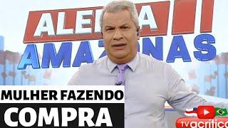 MULHER FAZENDO COMPRA