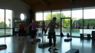 Dance step aerobic 2012.06.06.