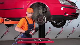 Poly v-belt installation FORD MONDEO: video manual