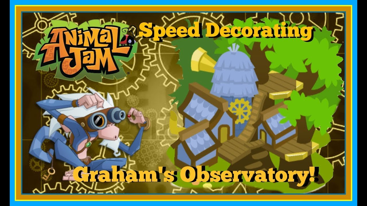 Download Animal Jam: Speed Decorating Graham's Observatory!