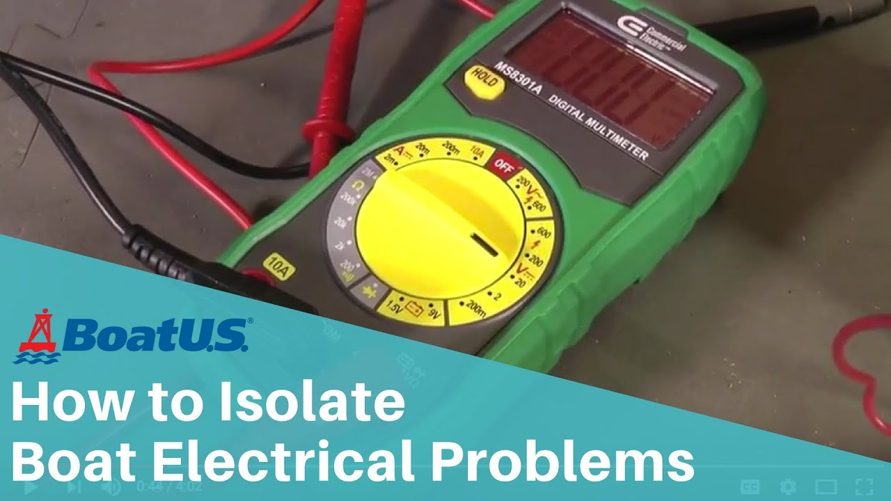 How To Isolate Boat Electrical Problems Using A Multimeter Boatus Marine Ac Dock Wiring Panel