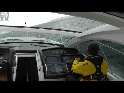 Sunseeker San Remo on test with Motor Boats Monthly MBM