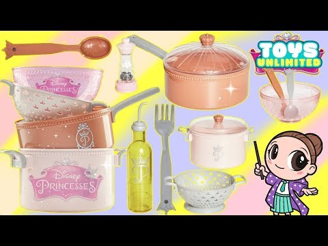 Disney Princess Style Collection Gourmet Cooking Kitchen Play Set