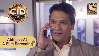 Your Favorite Character   Abhijeet & Team Attend A Film Screening   CID