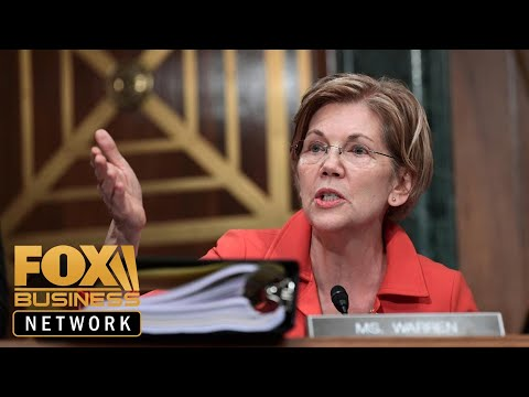 Elizabeth Warren seeks to disband tech giants