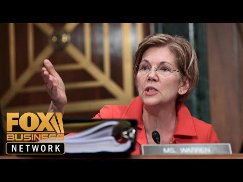 Elizabeth Warren seeks to disband tech giants