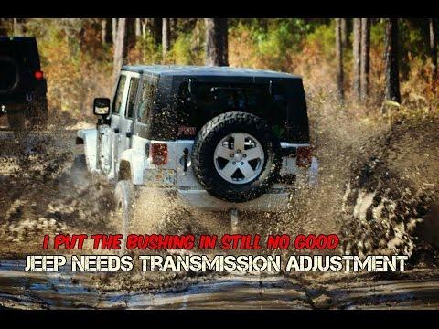 Jeep JK Auto Transmission Bushing Install - YouTube