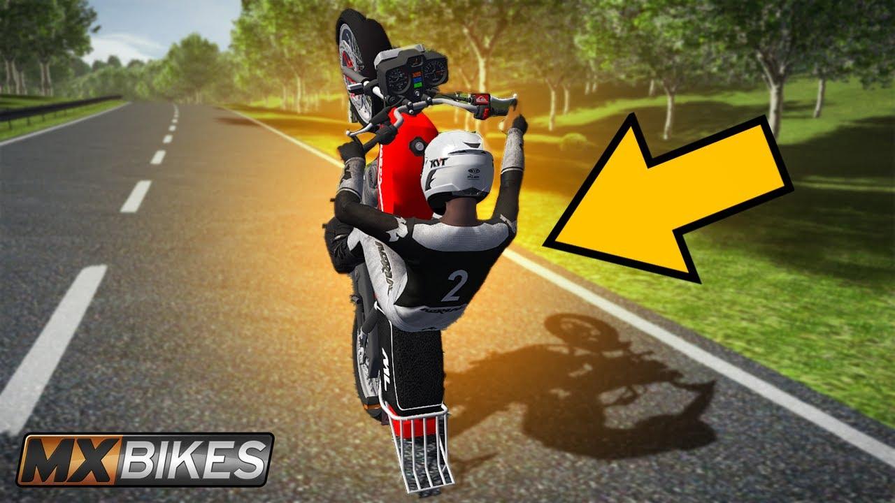 Download MX Bikes  - FUI NA RUA DO GRAU DE HONDA ML 200cc
