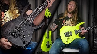 4 NEW Solar Guitars - 7 String Floyd Rose