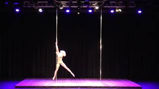 2018 US Pole Dance Championship Novice Level 2 Sexy Division - Heather Williams