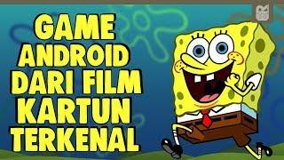 5 GAME ANDROID SERU DARI FILM KARTUN TERKENAL !!