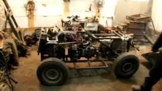 Квадроцикл своими руками 4x4 с двигателем ока.(, 2016-01-14T09:49:04.000Z)