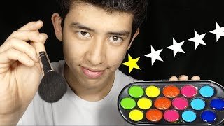 ASMR worst reviewed face painter
