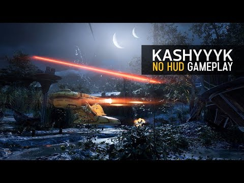 Battlefront II Kashyyyk Night Map! No HUD 1440p 2K Gameplay