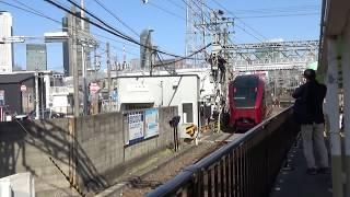 2020年2月24日 近鉄80000系ひのとり 米野駅入換