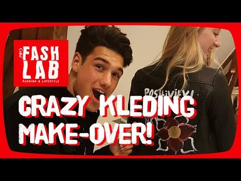CUSTOMIZED SWAG: Milan pimpt je kledingkast! – FashLab #2