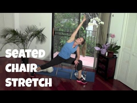 10-Minute Seated Chair Stretch Routine (quick stretch, seated exercise)